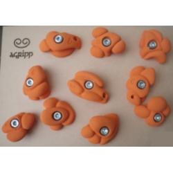 Holds set- Tricky Pastel Orange