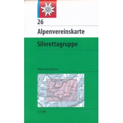 Silvrettagruppe Weg+Ski 26