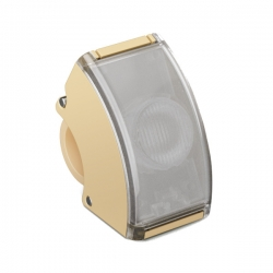 Curve Front Light - Beige One Size
