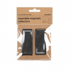 Clip On Reflectors - Black One Size