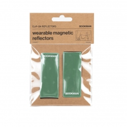 Clip On Reflectors - Green One Size
