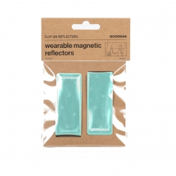 Clip On Reflectors - Mint One Size