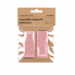 Clip On Reflectors - Pink One Size
