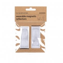Clip On Reflectors - White...