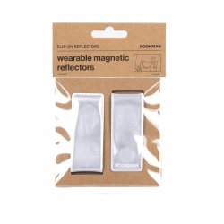 Clip On Reflectors - White One Size